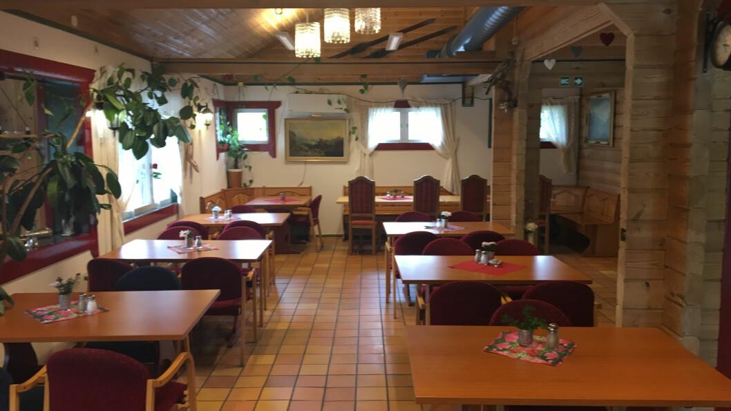 EN SLAGS BONDEROMANTIKK: Her serveres det gatekjøkkenmat og husmannskost.