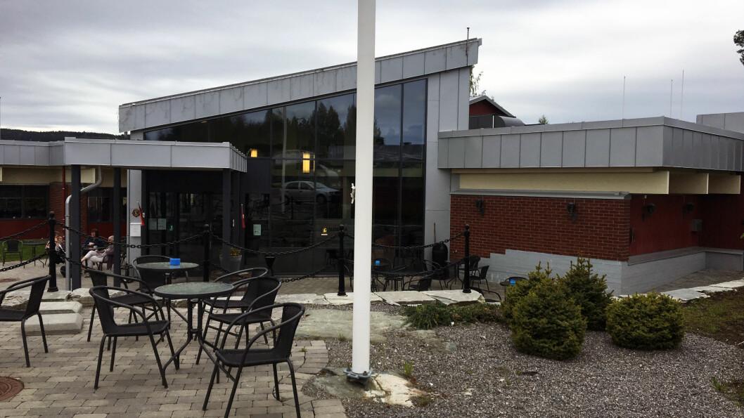 PÅ VEI TIL KONGSVINGER: Slobrua gjestegård er både et overnattingssted og en veikro.