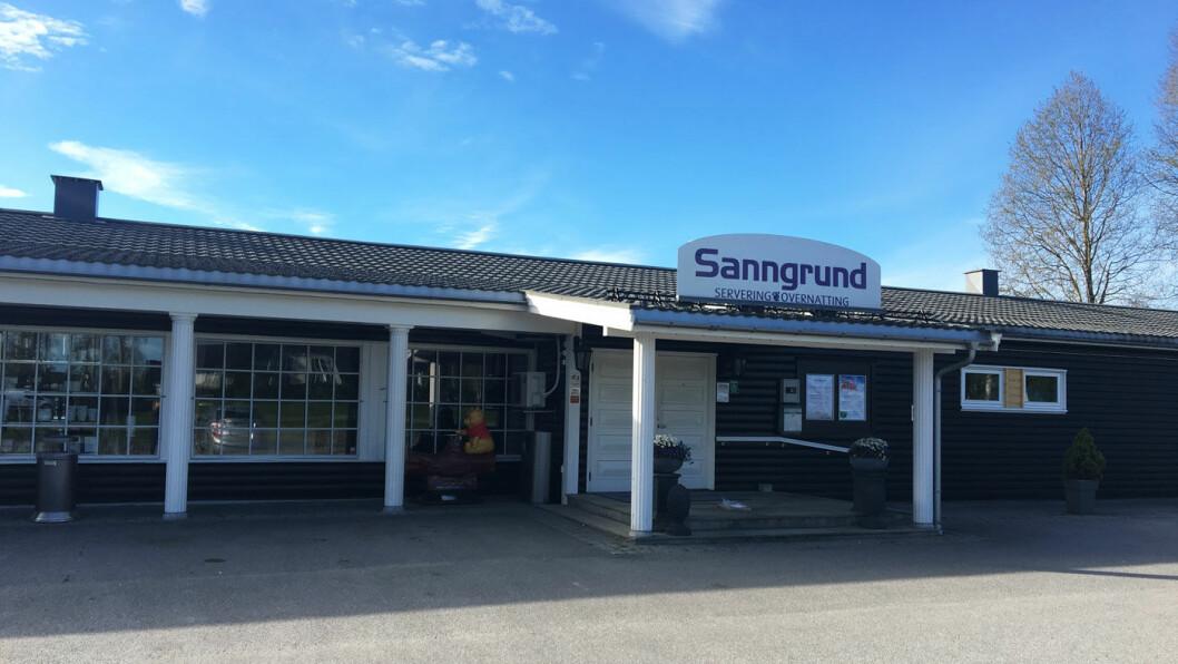 POPULÆRT LANGS E16: Sanngrund på Skarnes er nesten en institusjon langs veien.