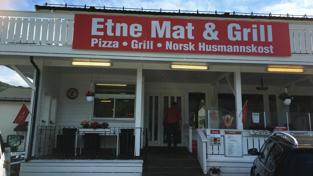 ALT I ETT: Gatekjøkkenmat, pizza og innslag av norsk husmannskost.