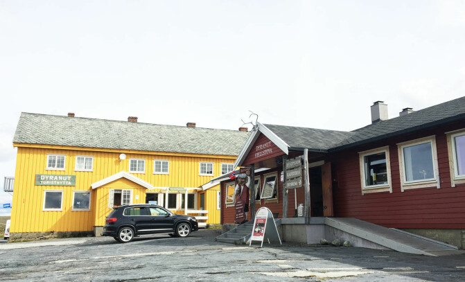 Stopp på Hardangerviddas topp