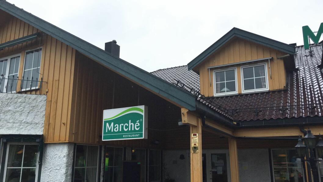 SKUE HUNDEN: Klassisk utseende Marché-restaurant, men vi blir litt skuffet over innholdet.