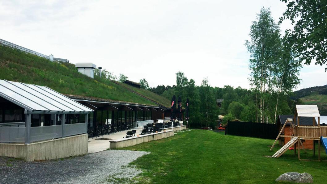 MUNKEKROEN: Kafe og spisested i forbindelse med Valdres folkemuseum.