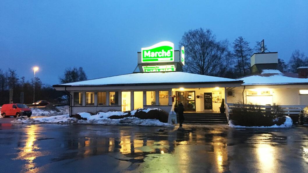 STOR FORSKJELL: Fire Marché veikroer ligger langs E6 mellom Vestby og avkjøringen til Sarpsborg. Det er ikke ett fett hvilken du velger. Foto: Motor-redaksjonen
