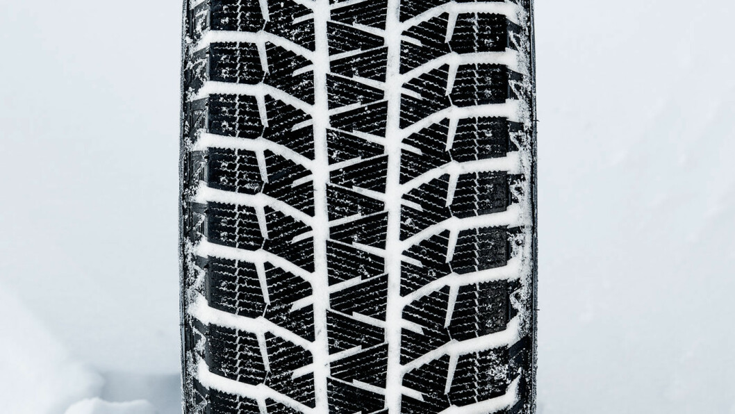 BRA PÅ IS: Bridgestone Blizzak WS80