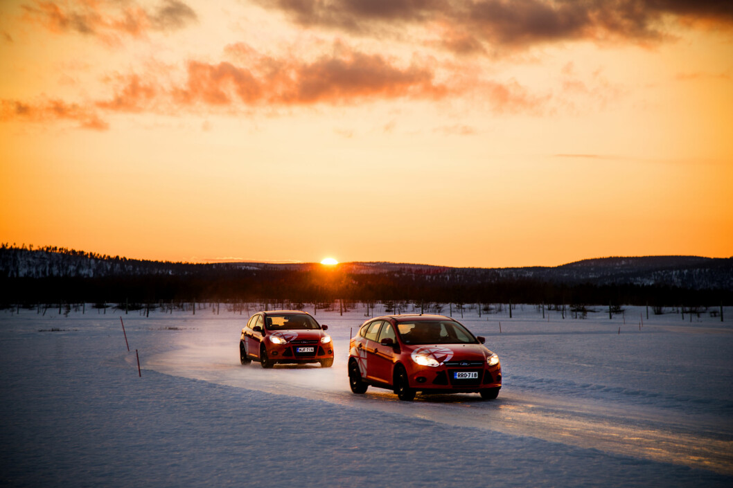VINTERVINNERE: Vi har testet 21 vinterdekk. Foto: Lasse Allard