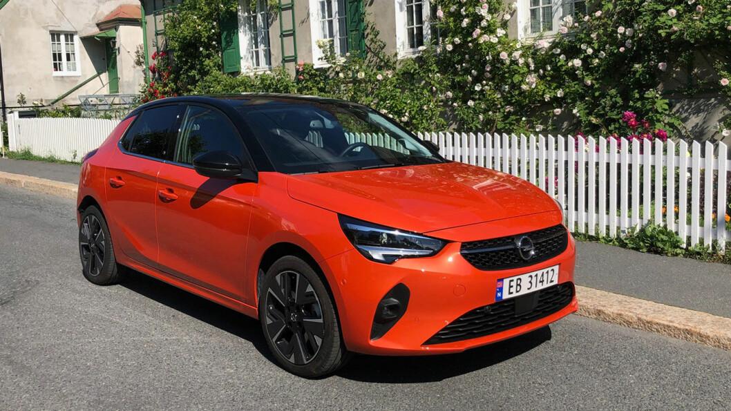 FARGERIK: Opel kommer med en Corsa-e som gir mye for pengene.