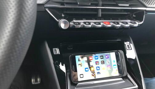 Vil bruke iPhone til å styre AC, setene og radioen