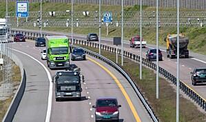 Stortinget vil tillate fartsgrense på 120 km/t