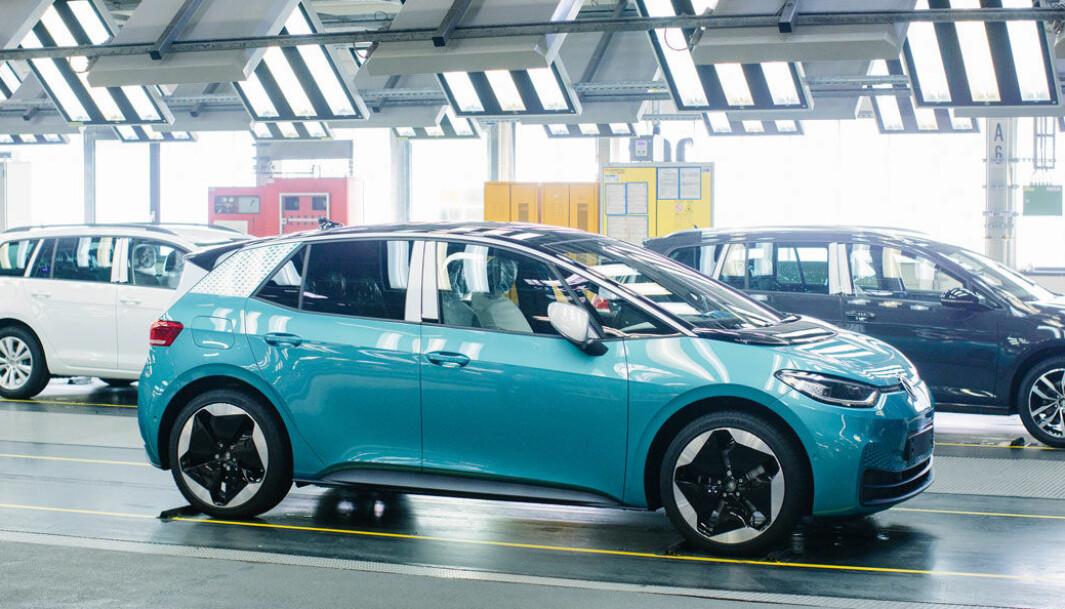 <b>HAR SKAPT BRUDULJE: </b>Trang fødsel for VWs nye elbiler, særlig ID.3, har sendt sjokkbølger gjennom konsernledelsen.