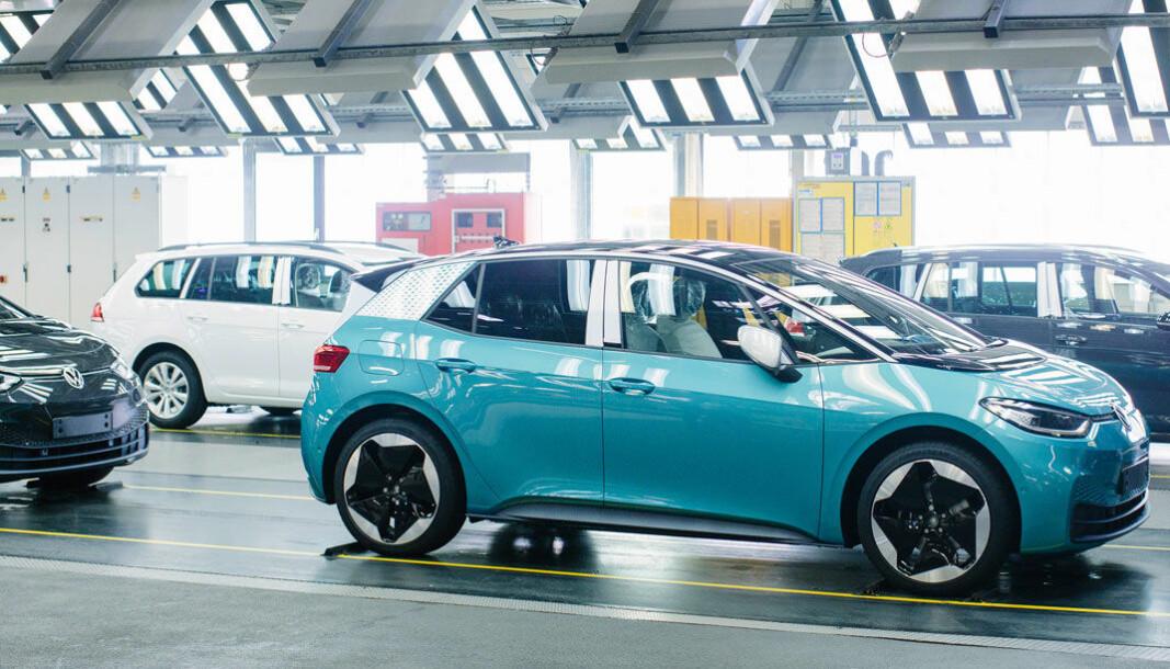 <b>TOPPER I OKTOBER: </b>Det er alt registrert langt over 1000 Volkswagen ID.3 her i landet.