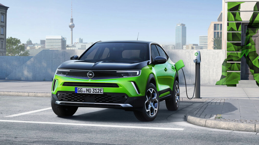 FREMTIDEN ER HER (SNART): Opel Mokka-e kommer med kraftig redesign av dagens modell.