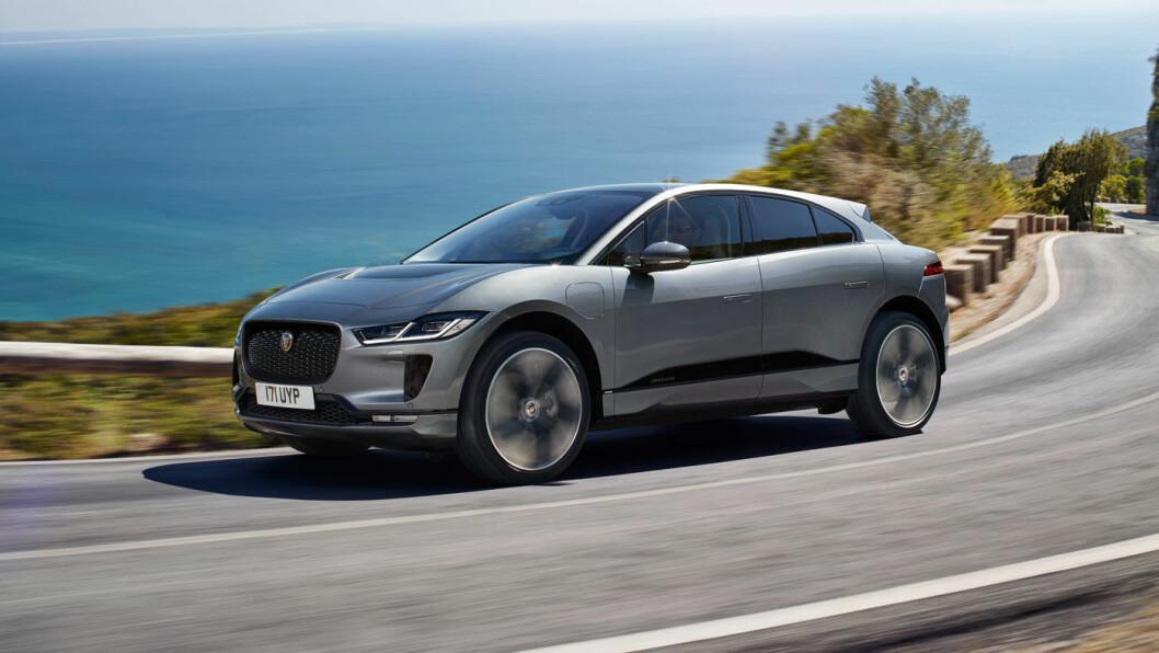 <b>FORBEDRET: </b>Det synes ikke på utsiden, men Jaguar I-Pace er oppgradert på flere viktige områder.
