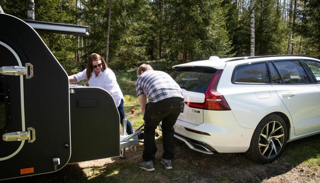MER AV DETTE: Stadig flere av oss hektet campingvogna på plass i 2020.
