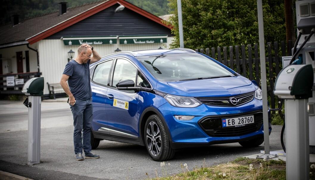 HODEPINE: En mulig defekt ved batteriet og potensiell brannfare gjør at batteripakken i samtlige Opel Ampera-e skal byttes ut.