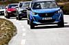 Samme bil: Vinter 296 km – sommer 512 km