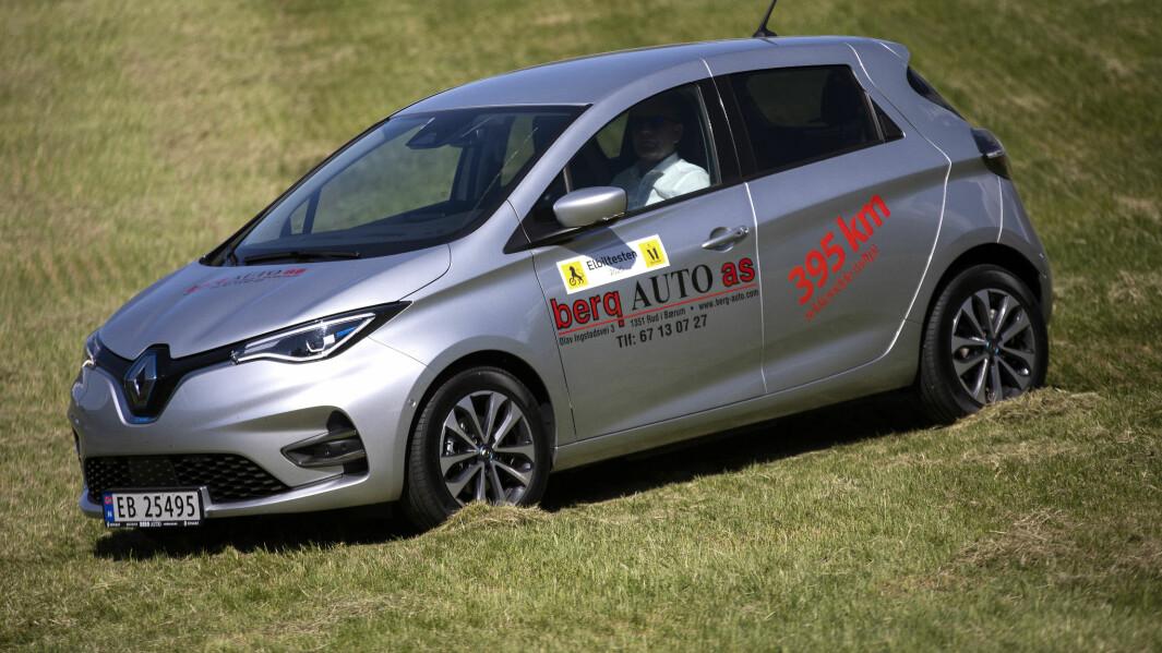 Renault Zoe: Henger fortsatt med