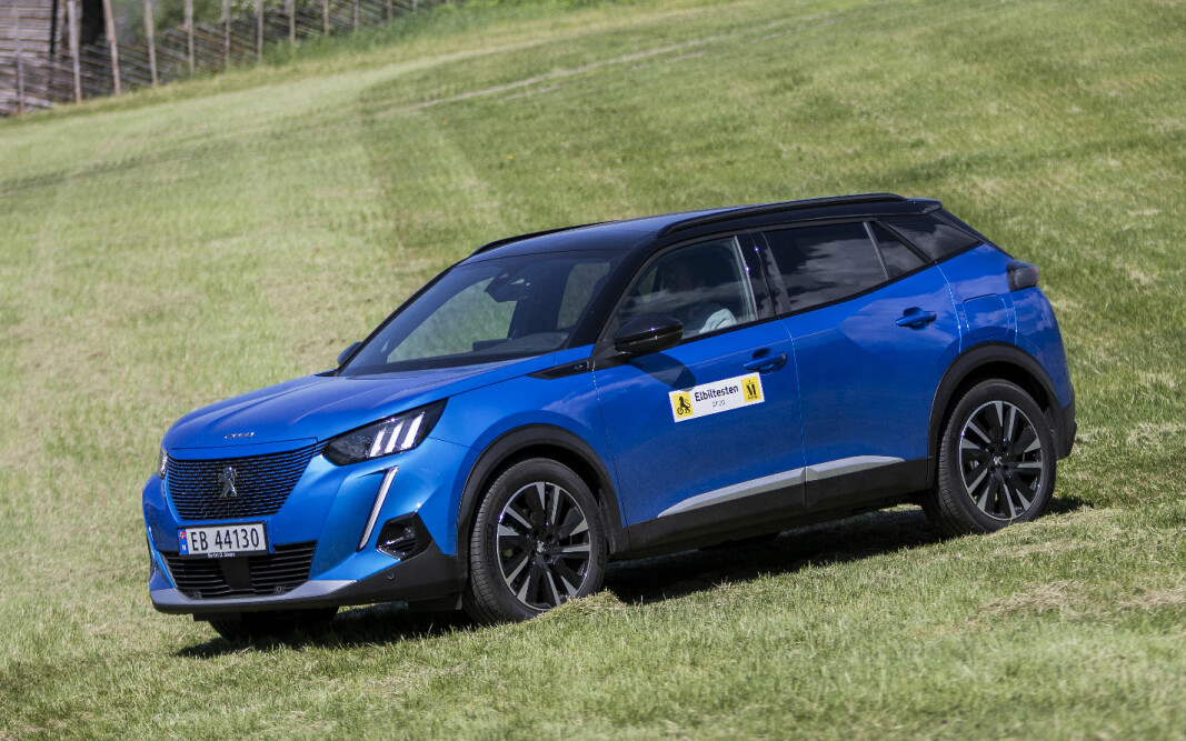 <b>LEKKER: </b>Peugeot e-2008.
