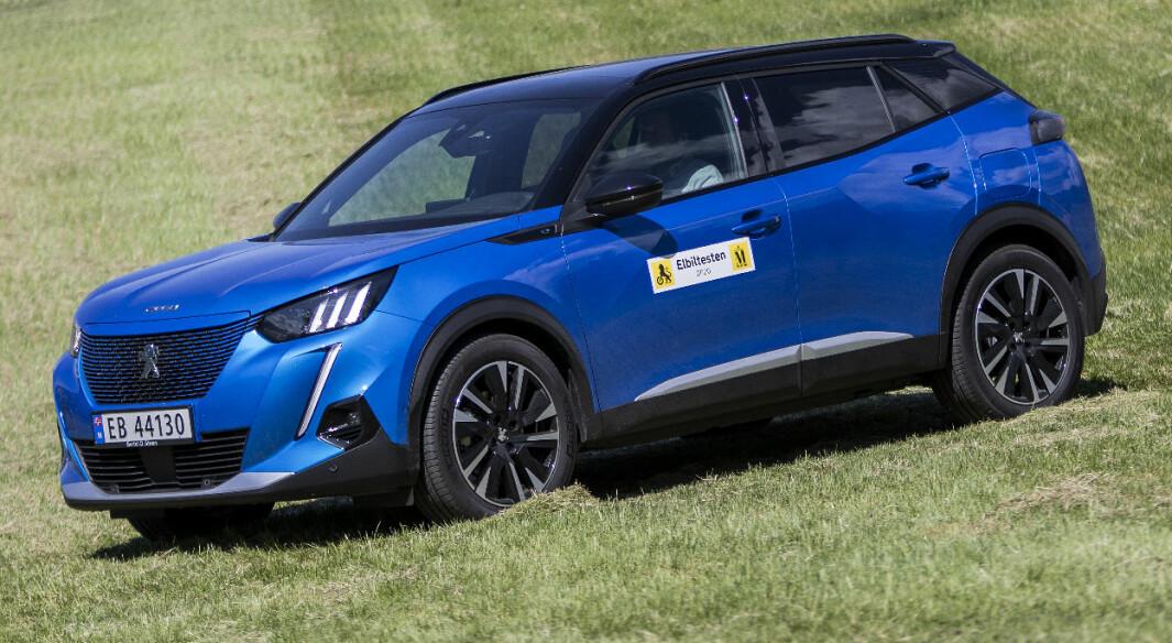 Peugeot e-2008: Mest sjarm