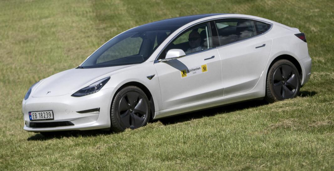 Tesla Model 3: Lengre enn langt