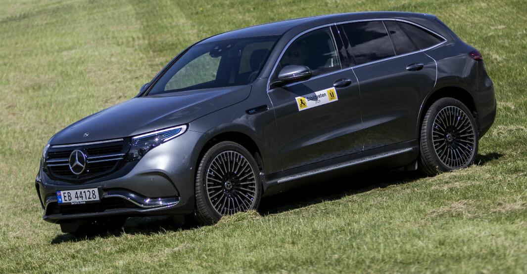 Mercedes EQC: Komfortkonge