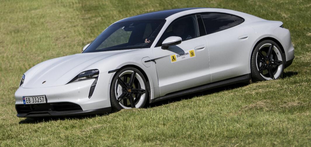 Porsche Taycan 4S: Raskest stille