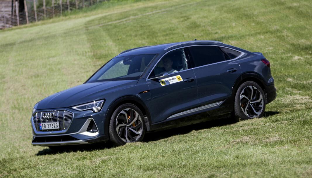 <b>SMEKKER:</b> Audi e-tron 55 Sportback