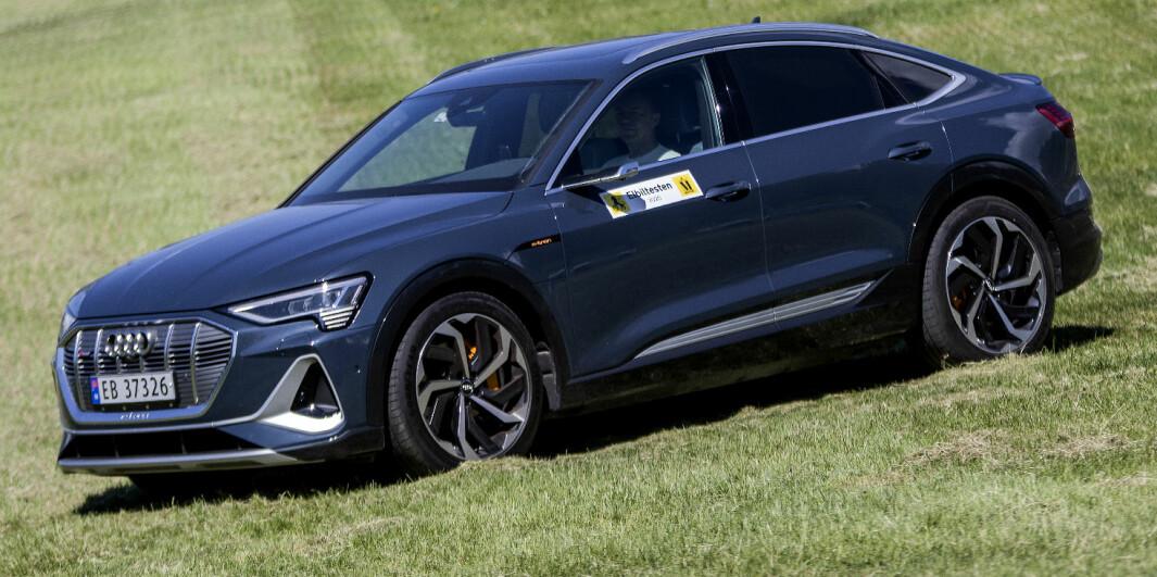 Audi e-tron Sportback: Strømlinjet