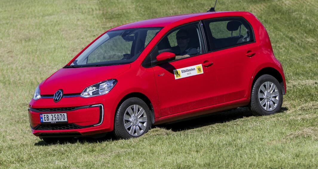 VW e-Up!: Tåler en langtur