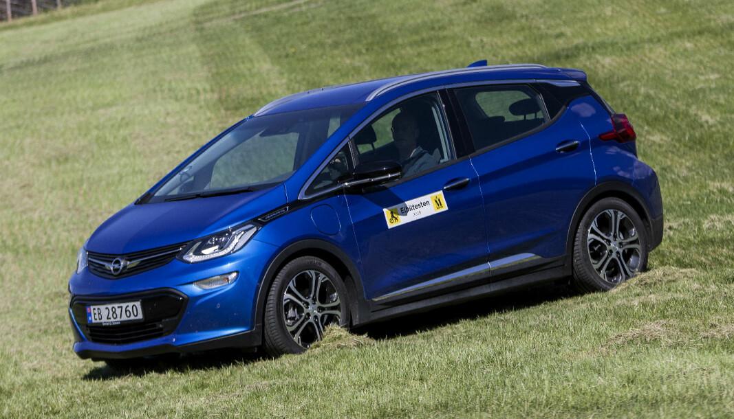 SOMMERFAVORITT: Opel Ampera-e