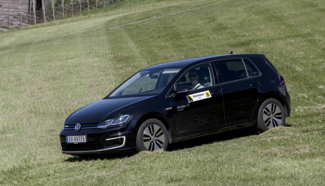 <b>SISTE VERS:</b> VW e-Golf