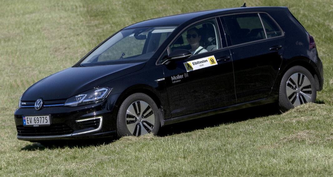 VW e-Golf: Legenden leverer