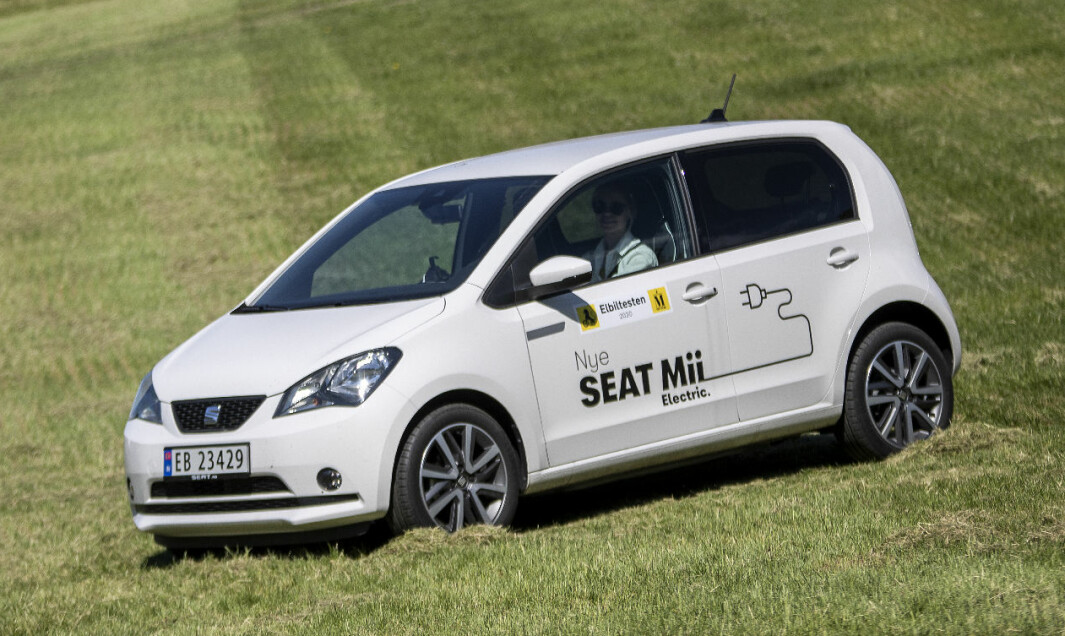 <b>GODE TALL:</b> Seat Mii Electric.