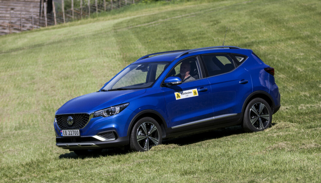 GOD KINESER: MG ZS EV