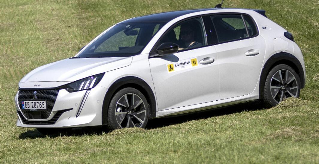 Peugeot e-208: Tåler en langtur