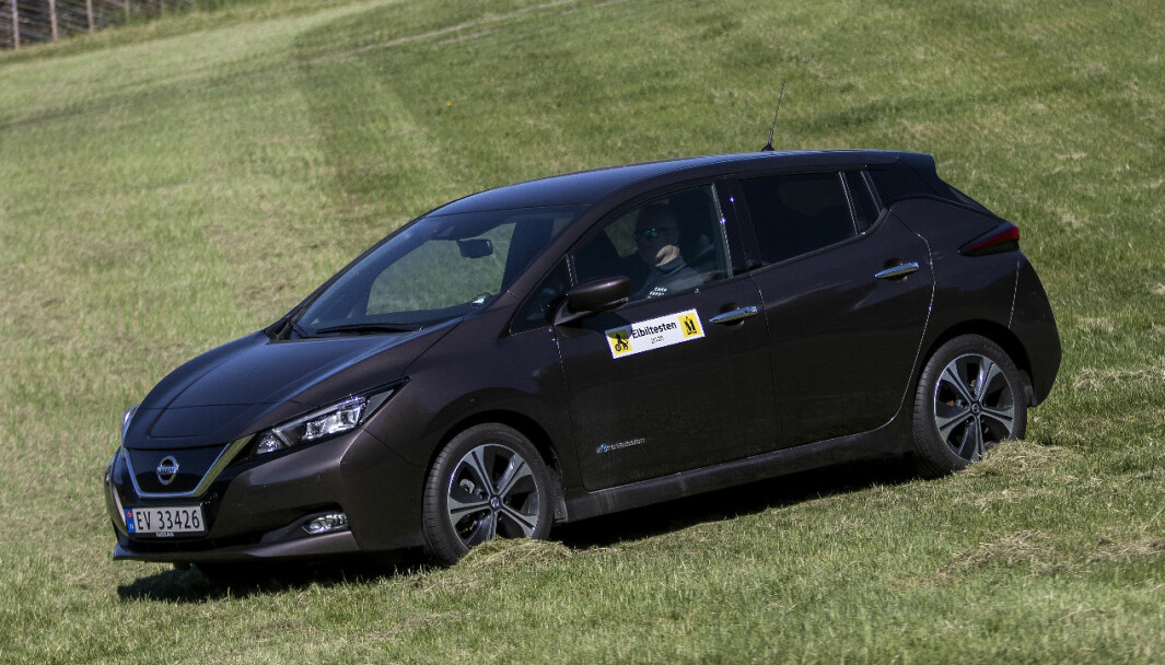 <b>VETERAN:</b> Nissan Leaf 40 kWt