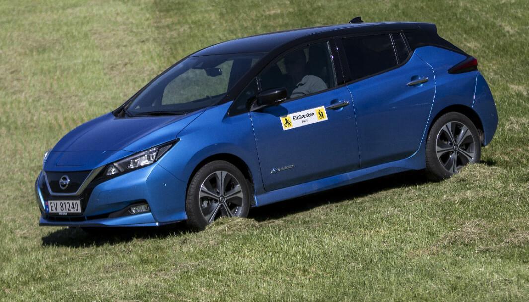 Nissan Leaf 62 kWt: Hurtigfart!