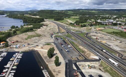 Seks mil med ny motorvei på fire uker