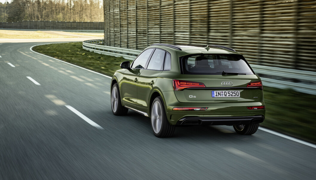 <b>OPPGRADERT: </b>Audi Q5 har vært på markedet siden 2012, men har fått noen store oppgraderinger med årene. Nå er en ny på gang, ikke minst lysteknologisk.