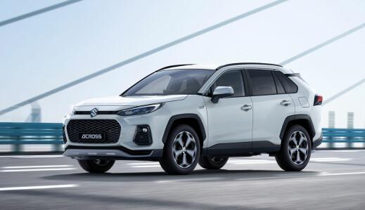 Suzuki lanserer ladbar SUV