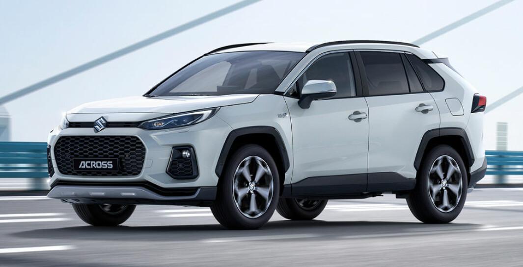 SUZUKI PÅ FRONTEN: Toyota skal produsere den ladbare SUV-en som kan gi økt salg i Europa for Suzuki.