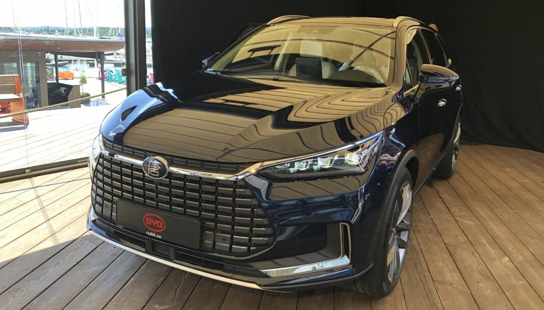 NYOMMER: BTD Tang tar opp kampen med de elektriske prestisje-SUV-ene.