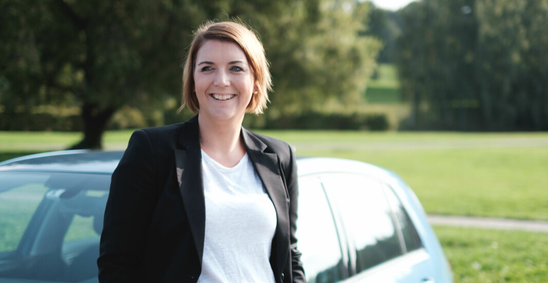 <b>OVERRASKET:</b> Christina Bu, generalsekretær i Norsk elbilforening.