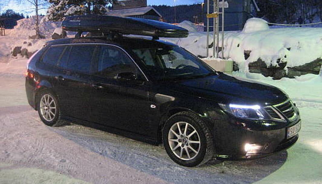 <b>FAMILIEVALGET</b>: Saab, Saab, Saab og Saab.