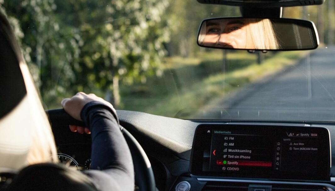 <b>TRENINGSTUR</b>: – Jeg tar seg selv i å kjøre fort til trening, men sakte hjem igjen. Det er litt psykologi i det.