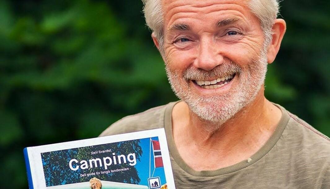 CAMPINGEKSPERT: Geir Svardal