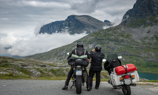 170.000 tunge motorsykler på norske veier