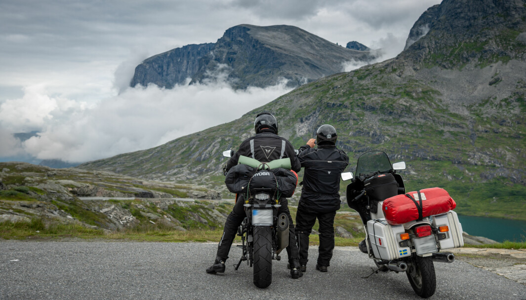 REKORDMANGE: Aldri har det vært registrert flere motoriserte tohjulinger i Norge.