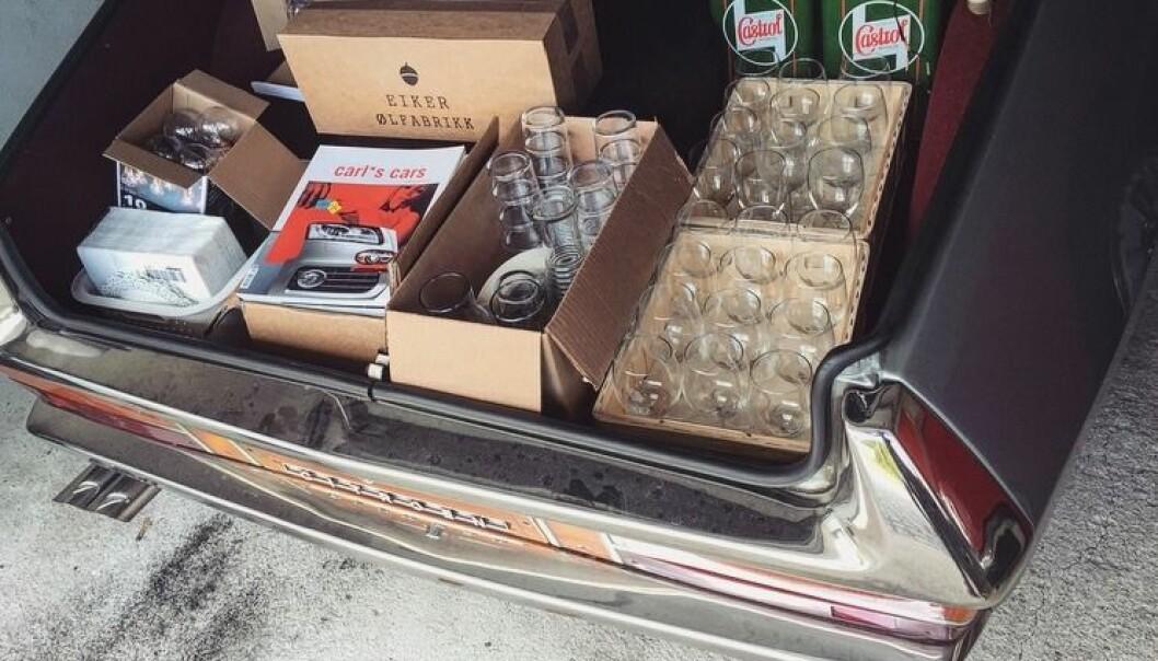 <b>NÅR FJÆRINGEN TELLER</b>: EN Citroën SM kan være nyttig hvis du gjerne med glass i bagasjen-