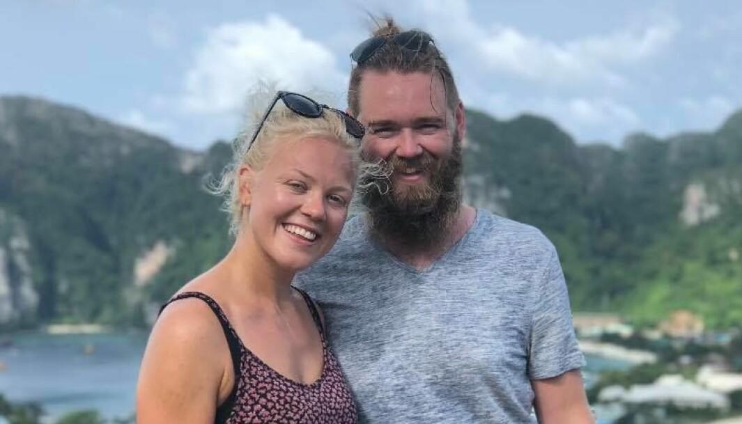 <b>BILDRØM</b>: Hanna Svealøkken og Fredrik Nordal har omsider en bil som ikke er som alle andres.